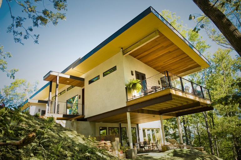 First in the country, an Asheville house made of hemp