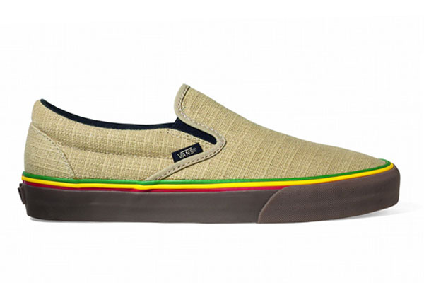 Hemp Vans the shoe to have this spring