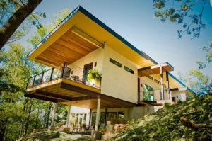 Asheville hemp house-hempcrete used in building all the walls!