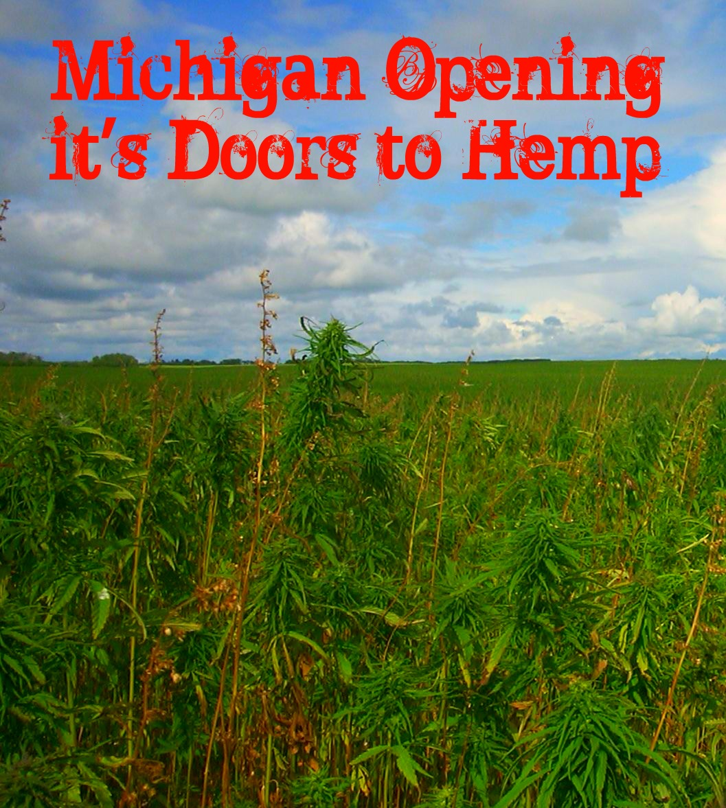 Michigan Legalizing Hemp Piece by Piece