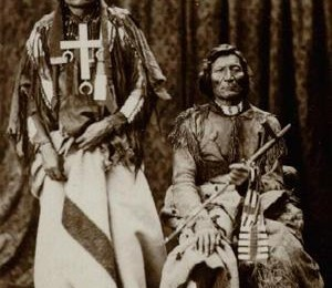 Little Wolf & Dull Knife in Washington 1873