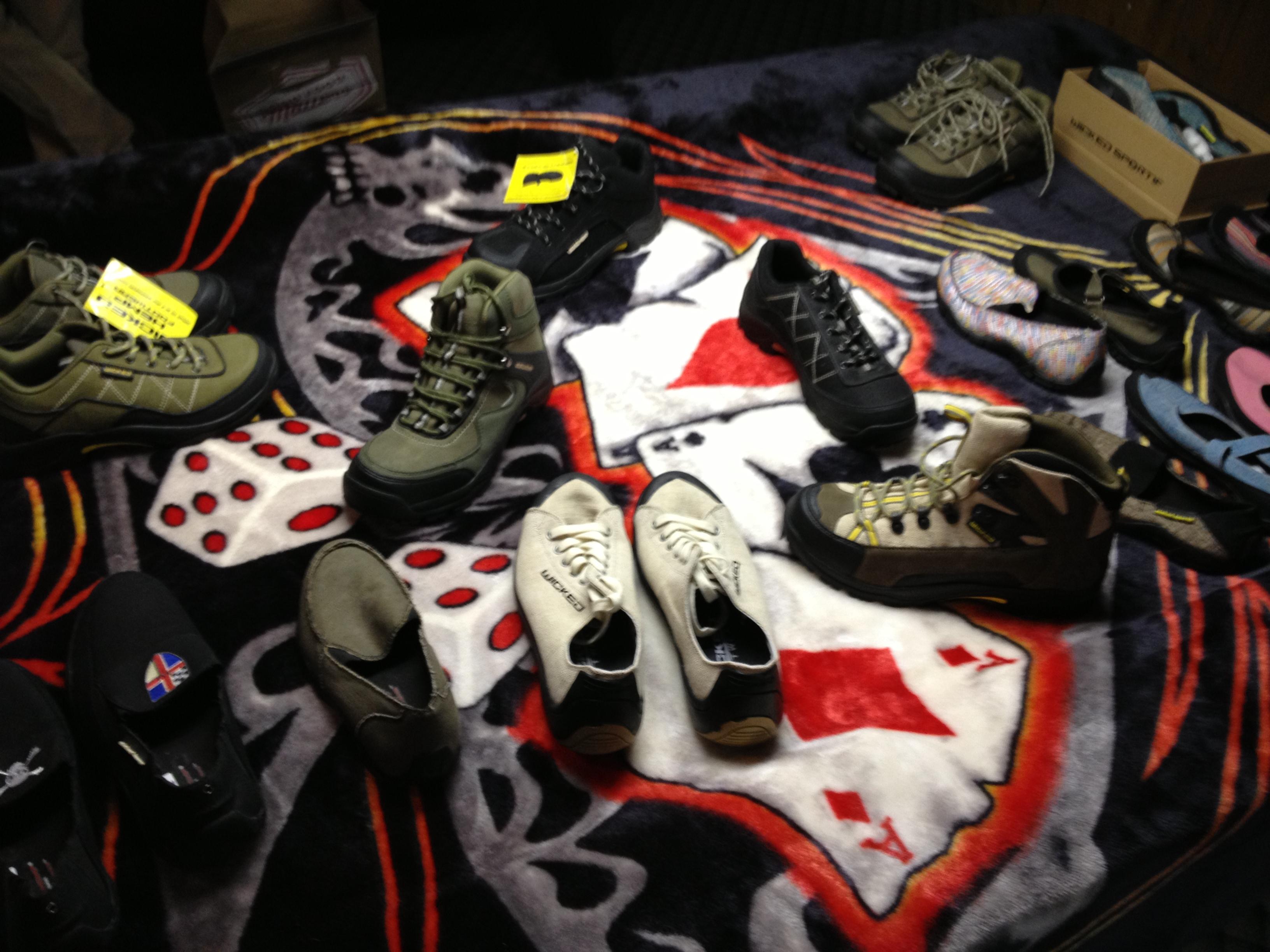 Colorado Hemp Company showcasing Hemp Shoes!