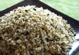 Industrial Hemp seeds hearts