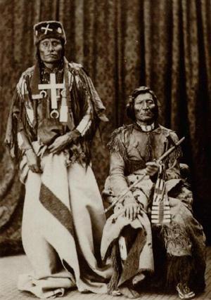 Little Wolf & Dull Knife in Washington 1873