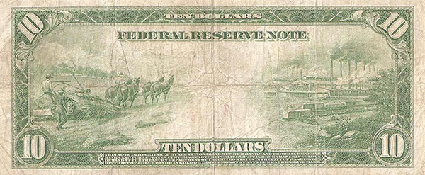 Our money even reflected industrial hemp's great value - the 10 dollar bill