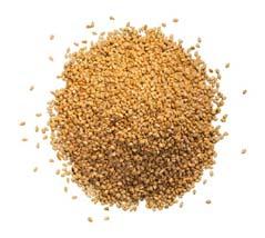 ground hemp seed
