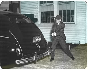 Henry Ford - Car built with hemp composite material
