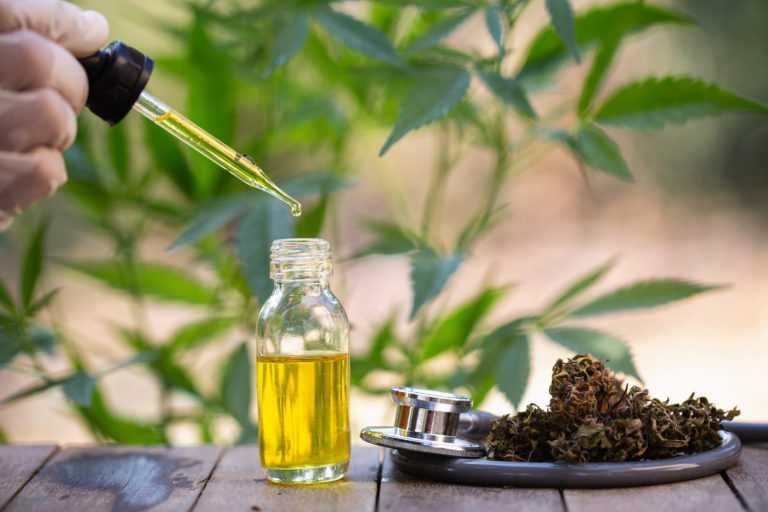 Bio-CBD-Öl aus Hanf